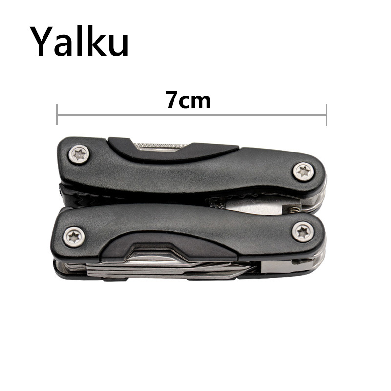 Yalku Multitool Pocket Folding Pliers Outdoor Multi-tool Survival Camping Tool Hand Tool Small And Exquisite Tools