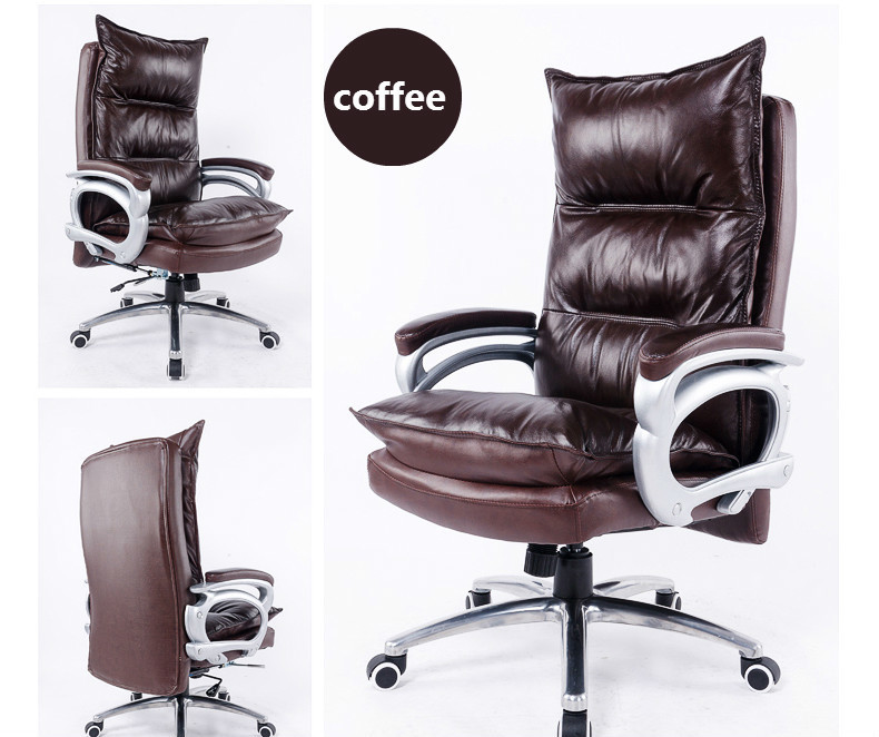 Luxurious and comfortable type lifting and rotating office chair home computer chair can lie massage chair furniture article in Office Chairs from Furniture