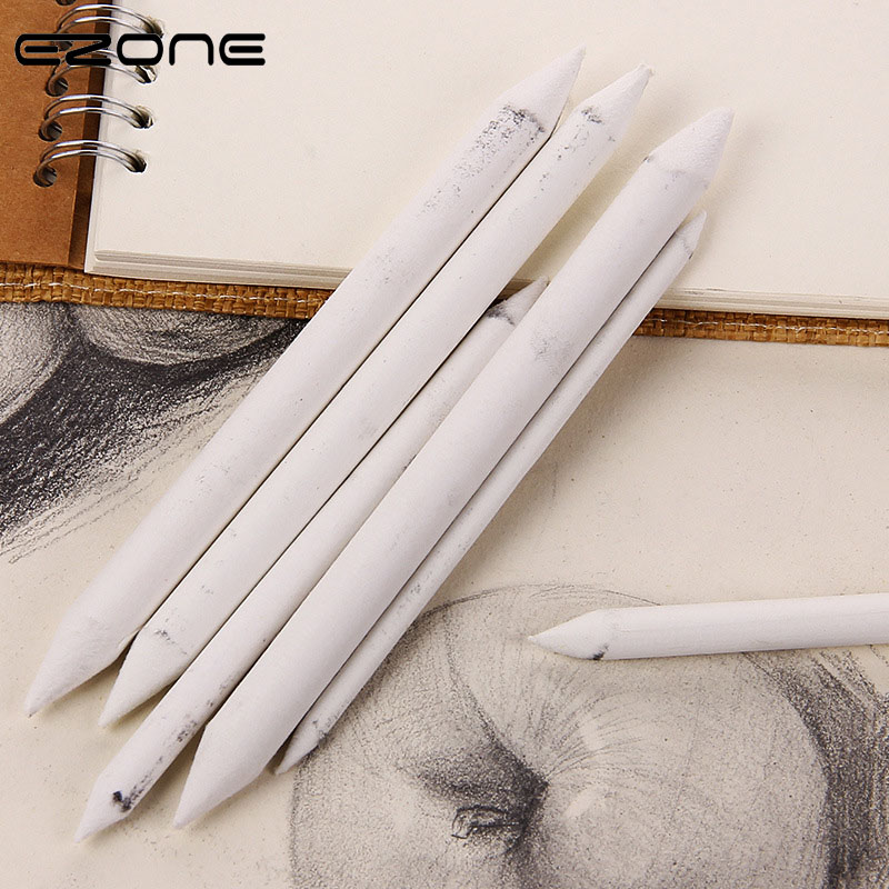 EZONE Dedicated Sketch Paper Pen Sketch Rendering Tool Double Head 6pcs/set High Quality Drawing Pen White Eraser Art Student