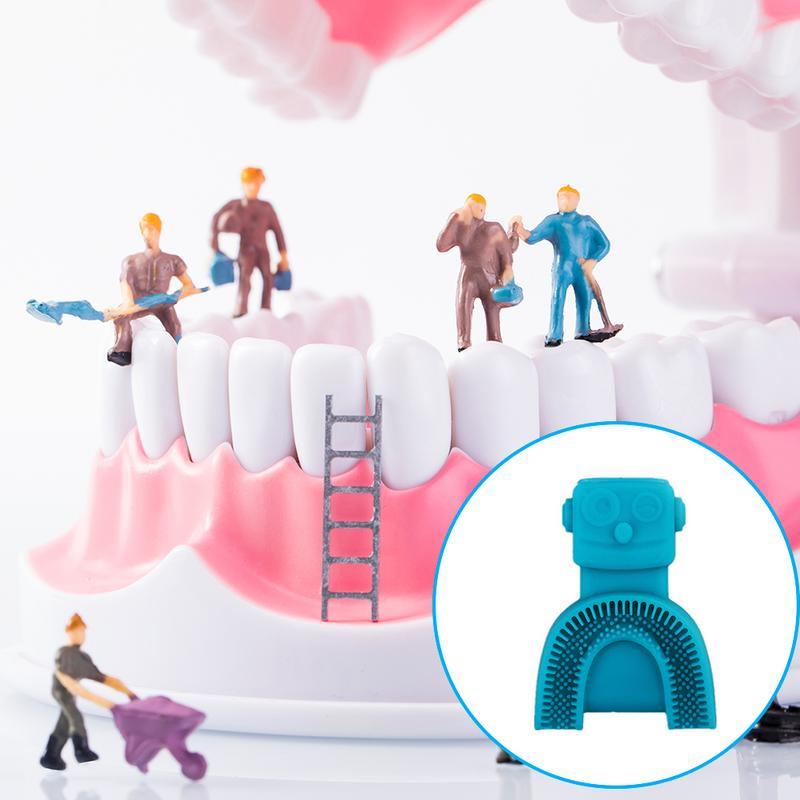 360 degrés brosse à dents électrique automatique sonique USB Rechargeable intelligente Ultra sonique silicone brosse à dents 5 Modes U Type Timer4 - 4
