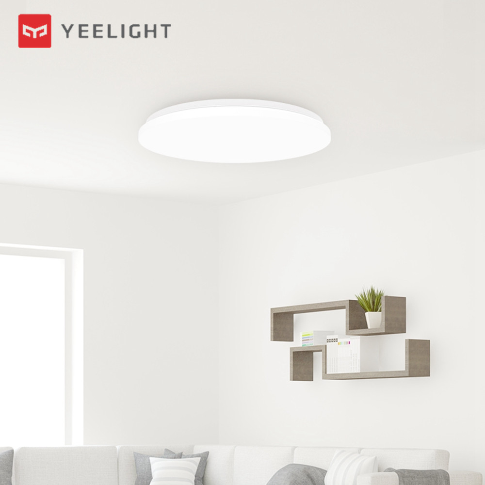 Xiaomi Yeelight YILAI YlXD05Yl 32W 480 Simple Round LED Smart Ceiling Light for Home AC220-240VXiaomi Yeelight YILAI YlXD05Yl 32W 480 Simple Round LED Smart Ceiling Light for Home AC220-240V