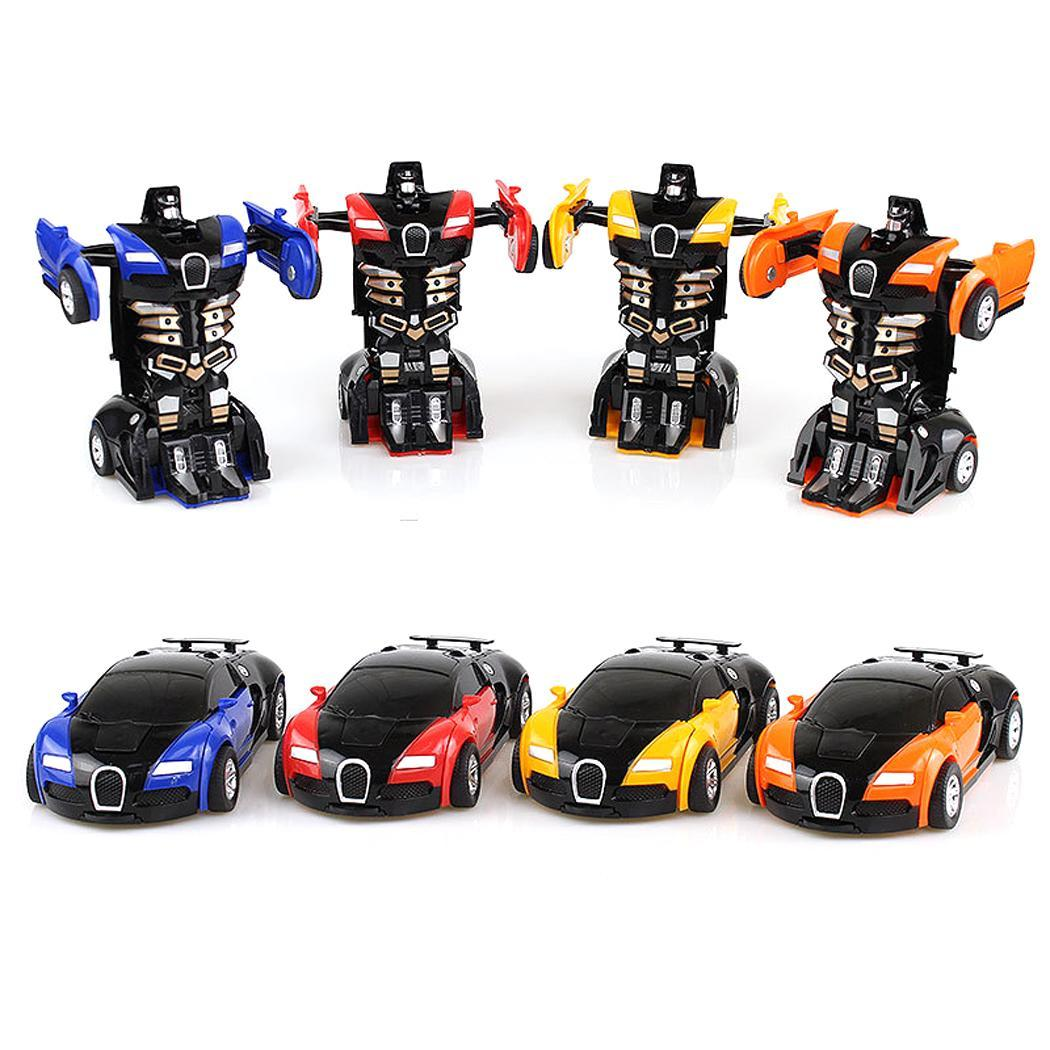 Cartoon Crash Deformation Transforming Robot Car Toy Kids 4 colors cartoon robot car toy kids. Game GiftCartoon Crash Deformation Transforming Robot Car Toy Kids 4 colors cartoon robot car toy kids. Game Gift