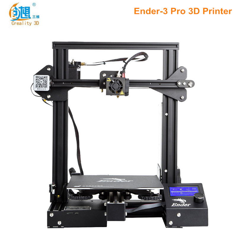 Creality3D Ender 3 Pro 3D Printer DIY Kit High Precision Steel Frame LCD Display Easy to remove