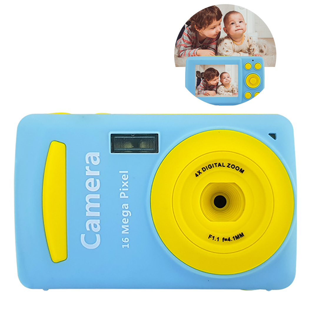 2.4 Inch IPS HD Screen Kid Camera Toys Mini Lovely Kids Anti-shake Digital Camera Max Memory Expansion HD Card For Child Gift