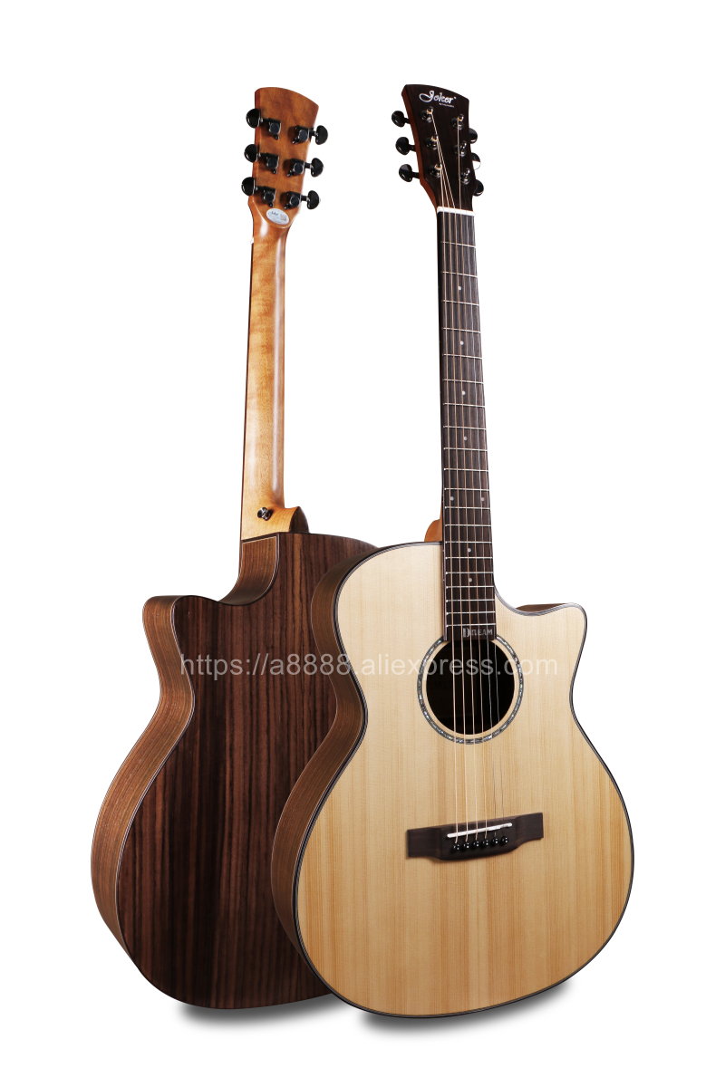 Professional 40 Cutaway Acoustic Guitars With 20mm cotton bag,Solid Spruce Top/Rosewood Body guitarra chineseProfessional 40 Cutaway Acoustic Guitars With 20mm cotton bag,Solid Spruce Top/Rosewood Body guitarra chinese