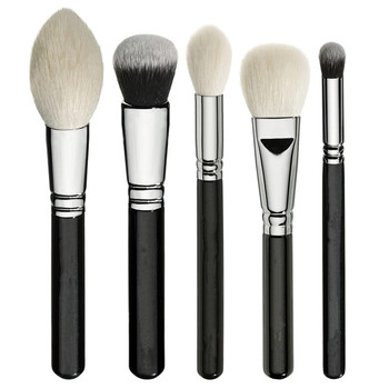 ZOEVA New  Luxe Complete Set 15 pieces Brushes For face & Eyes + Clutch NIB 2