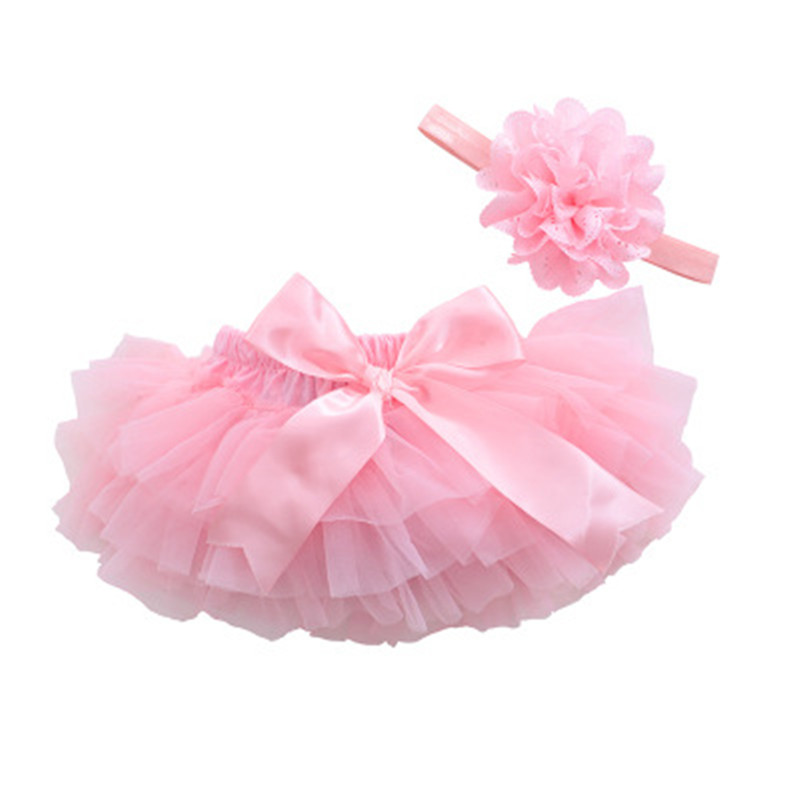 Baby Tulle Cotton Chiffon Ruffle Bloomers Cute Baby Diaper Cover Newborn Flower Shorts Toddler Lucky Fashion Summer Clothing