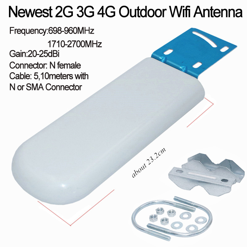Free Cable 4G Antenna SMA N connector WIFI router cable 3g 4g LTE antenna 2.4Ghz outdoor antene for huawei ZTE router modem