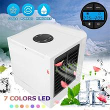 купить Car Air Cooler Small Car Air Conditioning Appliances 5 Levels Adjustment Mini Fans Air Cooling Fan Summer Portable Conditioner дешево