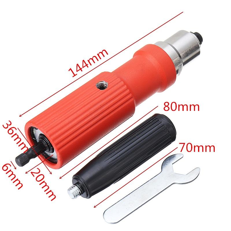 DANIU Portable Electric Riveter Nut Riveting Tool Metal Cordless Riveting Adapter For Electric Drill