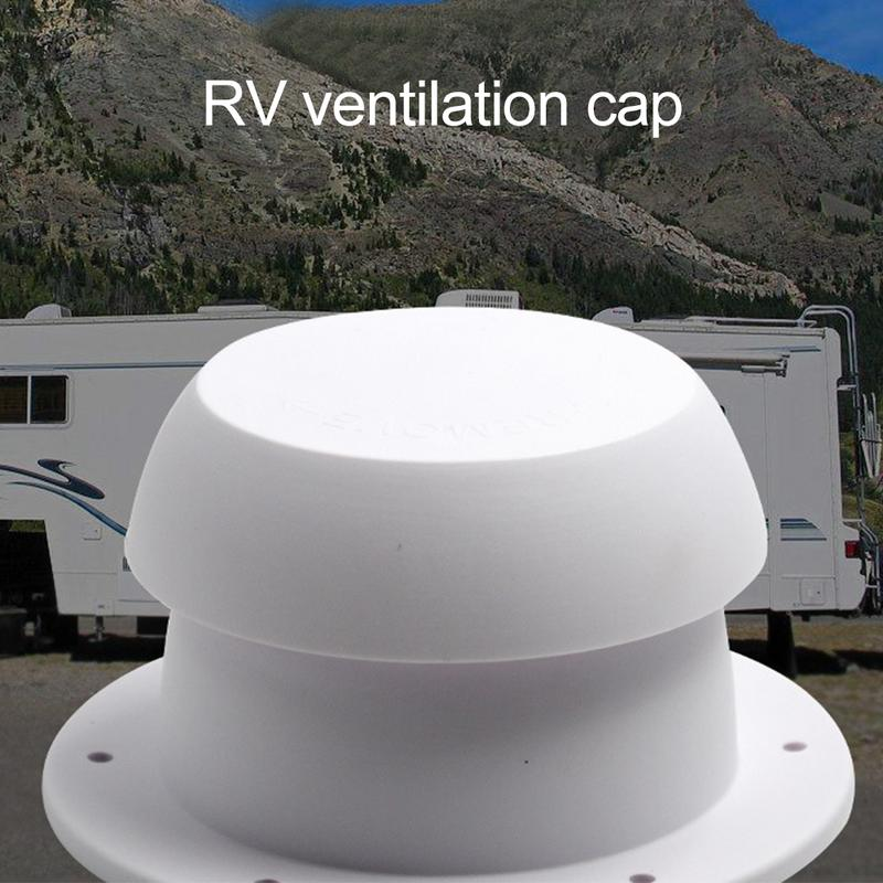 Mushroom Head Shape Ventilation Cap For RV Accessories Top Mounted Round Exhaust Outlet Vent Cap