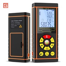 купить 40/60/80/100m Electronic Digital Laser Rangefinder Distance Lazer Meter Optical Range Level Finder Measurement Instruments Tool по цене 1435.49 рублей