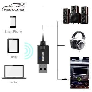 Image 2 - USB כוח 3.5mm AUX Bluetooth מקלט A2DP Dongle אלחוטי מוסיקה אודיו מתאם 3.5mm שקע מוסיקה משדר עבור רכב רמקול