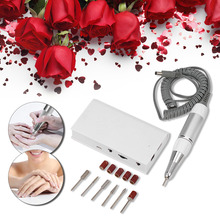 Abody 30000RPM Electric Nail Drill Machine Set Nail Polisher Glazing Machine Drills Accessory Pedicure & Manicure Tool Nail Care ophir 30000rpm white electric nail drill machine handle handpiece for nail manicure pedicure nail drill accessory kd125w