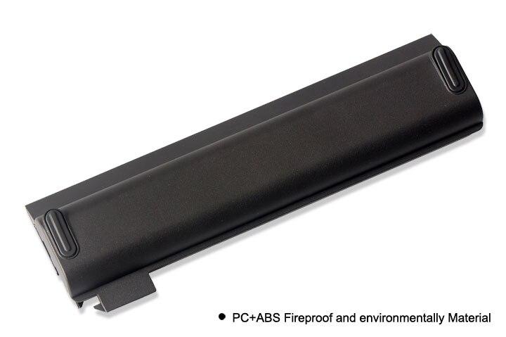 KingSener batterie d'ordinateur portable pour Lenovo Thinkpad X270 X260 X240 X240S X250 T450 T470P T450S T440S K2450 W550S 45N1136 45N1738 68 + - 3