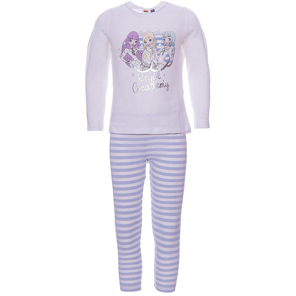 ORIGINAL MARINES Pajama Sets 9500903 Cotton Girls childrens clothing Sleepwear Robe parrot print cami pajama set with robe