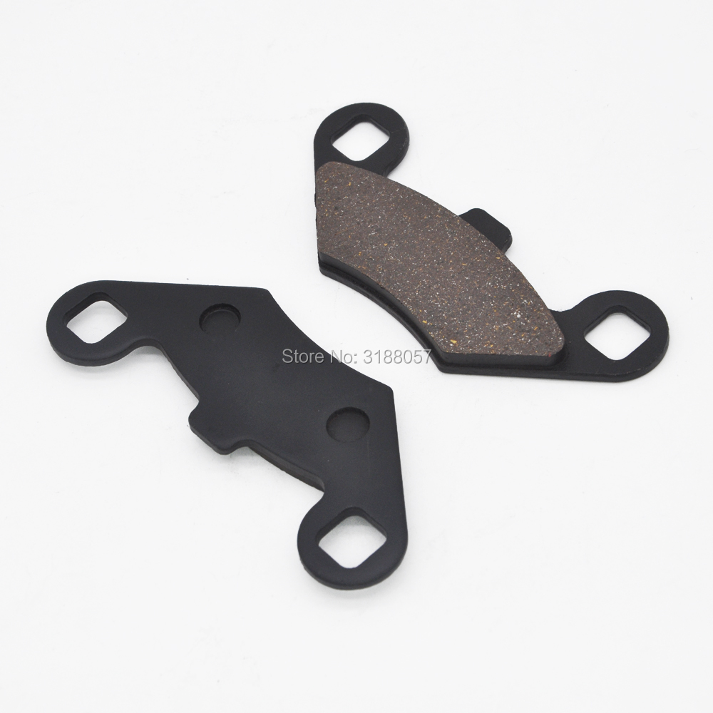 Front and Rear  Brake Pads for ATV Polaris SPORTSMAN 400 HO 4X4 2008-2011