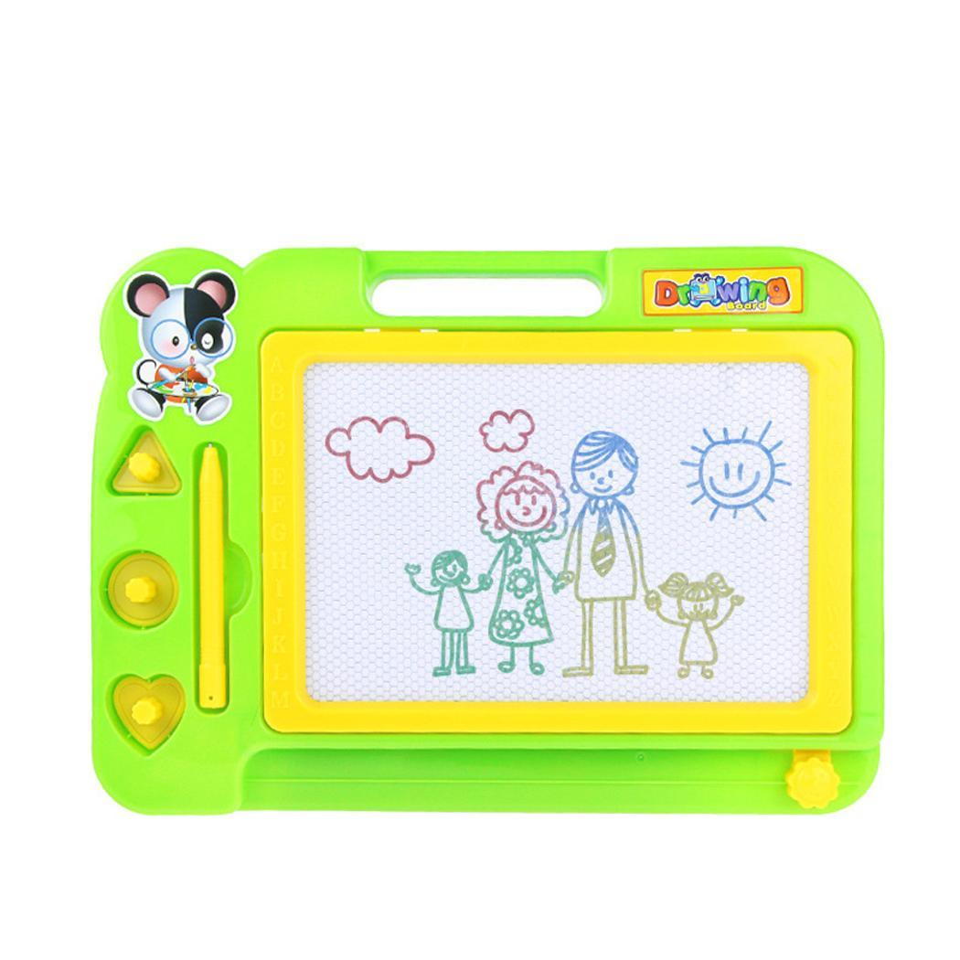 Children Black and white magnetic drawing Magnetic  Graffiti Unisex  Puzzle Kid  Writing Drawing Toy Board Painting 3 years old