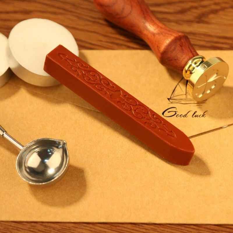 繊細なシーリングワックススティックレトロシール文字結婚式の招待状 90*11*11 ミリメートルヴィンテージコード芯ヴィンテージシーリングワックススティック