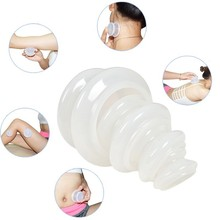 4PCS Silicone Body Cupping Set  Anti Cellulite Vacuum Cupping Cups Strong Suction Chinese Medicine Family Facial Body Massage t2n2 1pcs chinese medicine massage vacuum therap body cups cupping moxa paste detoxification clearing damp alleviate pain