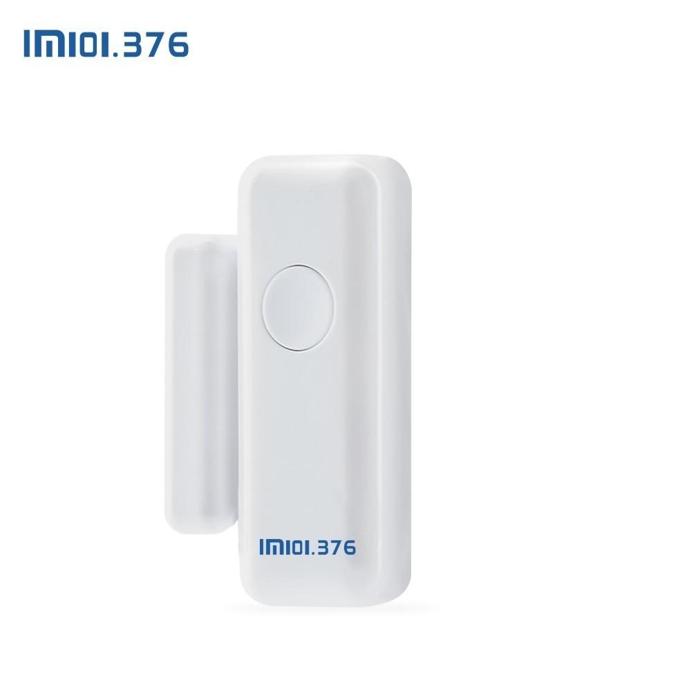 Détecteur de capteur d'aimant de porte de fenêtre sans fil de LM101.376 433MHz pour le système d'alarme sans fil à la maison - 2