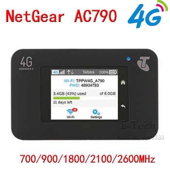 ロック解除 Netgear Aircard 790s (AC790S) 300Mbps 4 4g モバイルホットスポットオリジナル Wifi ルーターポータブル無線 Lan 敗走 - SALE ITEM パソコン & オフィス