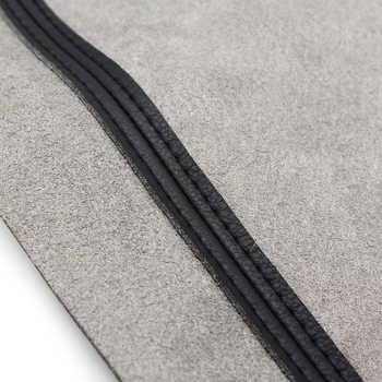 For Toyota Prado 2010 2011 2012 2013 2014 2015 2016 2017 2018 4pcs Microfiber Leather Interior Door Panel Cover Protection Trim