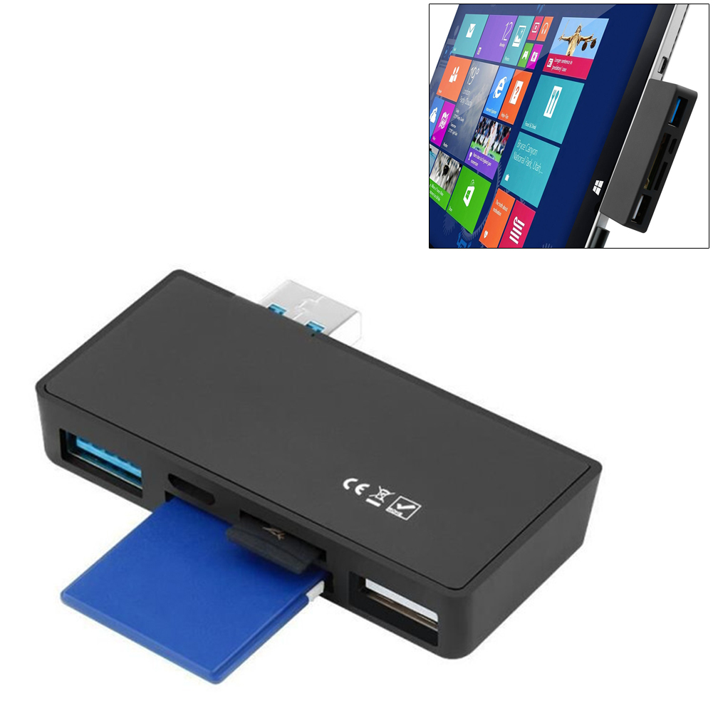 USB 3.0 Type-C HUB Multifunctional Adapter Expander MICRO  TF Card Reader For Microsoft Surface Pro #18