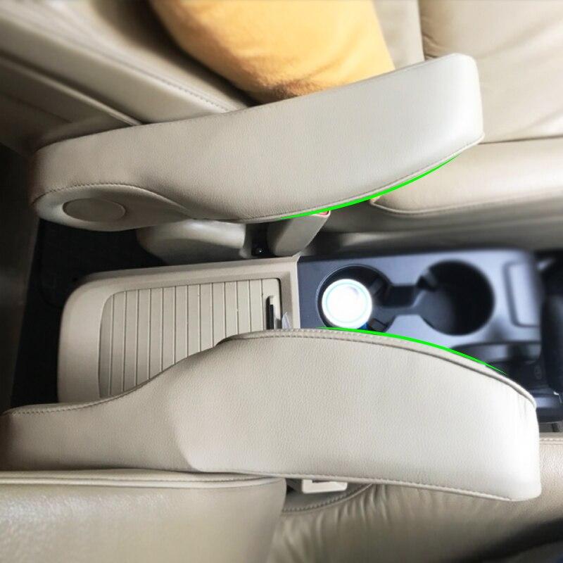 Microfibra de Couro Motorista/apoio de Braço Do Assento Do Lado Do Passageiro Lidar Com Cobertura de Guarnição Para Honda CRV 2010 2011 2012 2013 2014 2015 2016 2017