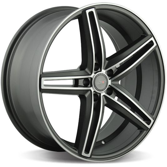 VISSOL V-015 9x20/5x112 ET45 D66.6 MATTE-GRAPHITE-MACHINED