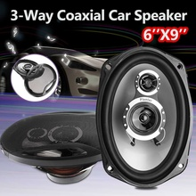 2pcs 12V 1000W 6''x9'' 3-Way Twin Tone Auto Car Coaxial Speakers