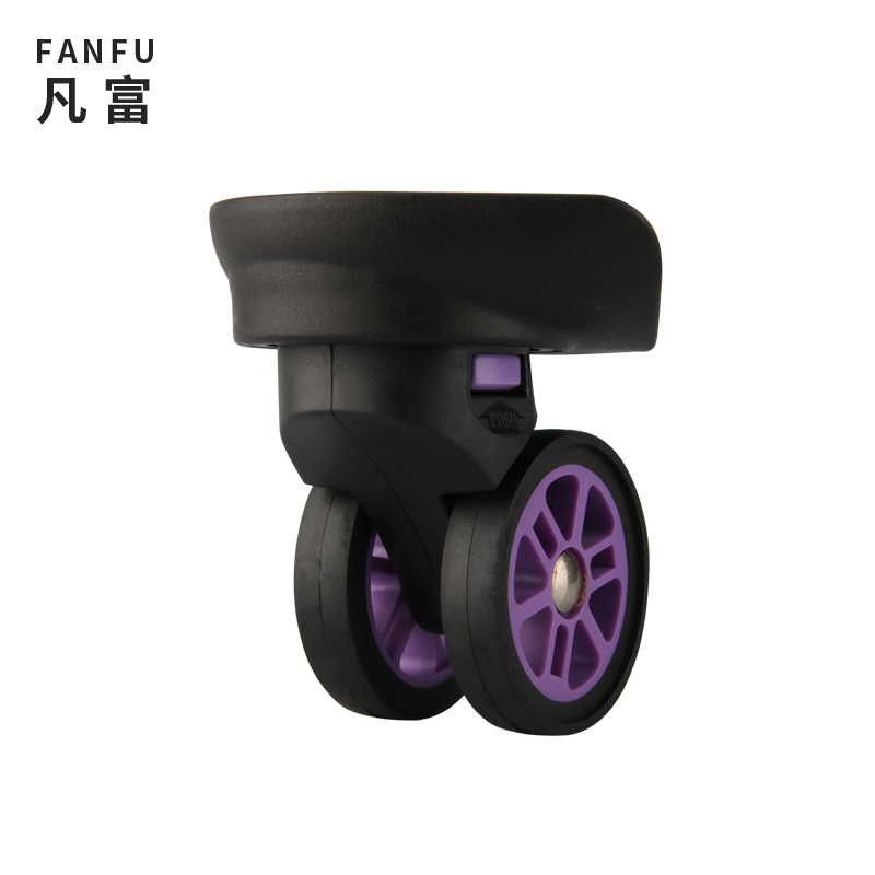 Trolley Universal Wheel Fitting Replacement Repair Travel Suitcase Mute Wheel Luggage Accessories Casters Color Mute Wheels