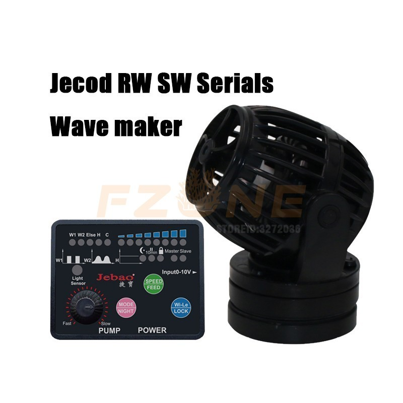 2017 New Jebao Marine Aquarium Wireless Wave Maker Pump SW 2 SW 4 SW 8 SW