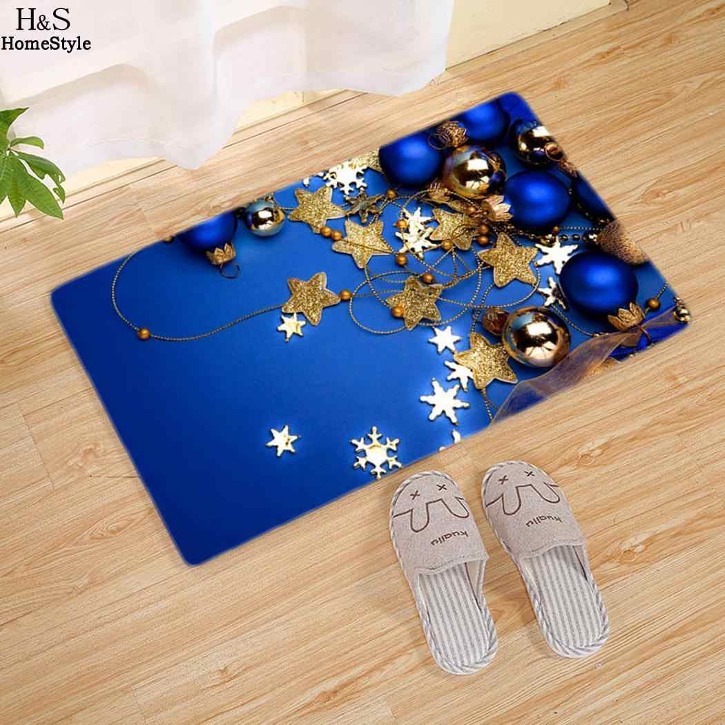 لعيد الميلاد متعددة السجاد غرفة نوم لك الفانيلا الألوان هي دخول إلى الحمام المضادة للانزلاق حصيرة المعيشة هناك غرفة اختيار