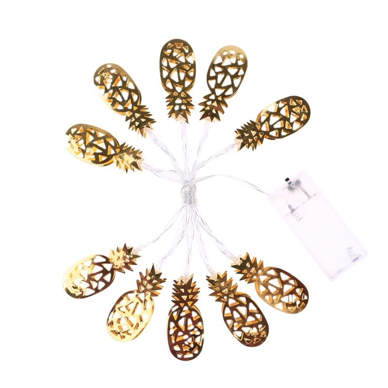 1.1M Pineapple Fairy Led String Lights For Christmas Tree Wedding Home Indoor Outdoor Decoration Battery Powered