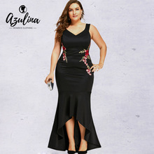 Buy maxi dress polyester spandex plus size and get free shipping on ...