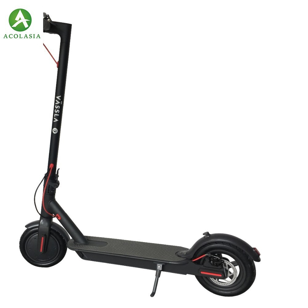 Superteff Ew6 Electric Scooter 8.5 Inch Two Wheel Scooter Fashion And Dark Grey Lcd Screen Folding Scooter citycoco