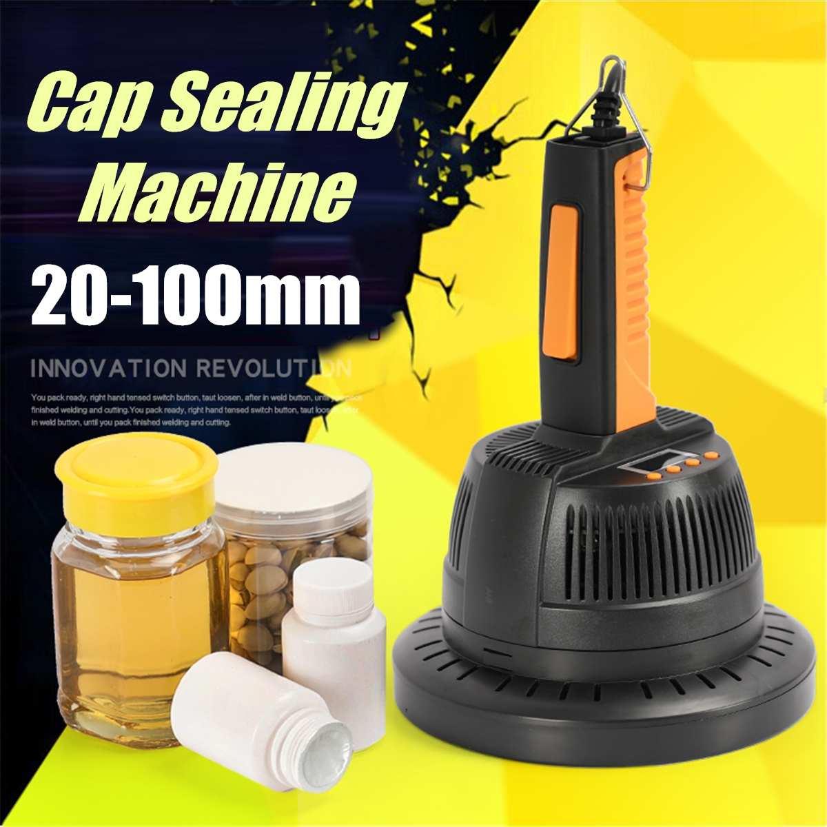 Electric Induction Bottle Cap Sealers Sealing Machine 20-100mm Aluminium Foil Capper Home Appliances 220V 0.8-1.2KW 800A
