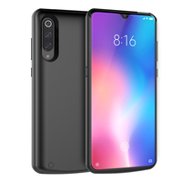 For Xiaomi Mi 9 Mi 9 SE Battery Charger Case 5000mAh Extenal Portable Slim Powerbank Charging Cover For Xiaomi Mi9 Battery Case|Battery Charger Cases|   -