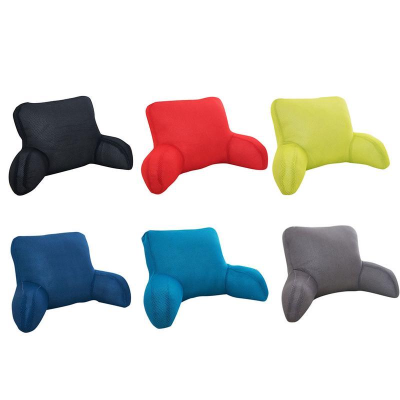 Large Lumbar Pillow Seat Cushion