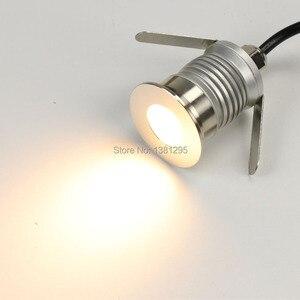 Image 5 - 12V IP67 Waterproof Outdoor Led Recessed Deck Floor Light Spot Lamp Spotlight Patio Paver Light Garden Landscaping Decking Light