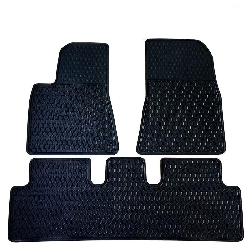 for Tesla Model S Model 3 Waterproof Anti slip rubber Car Trunk foot mats Front warehouse