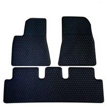 Для Tesla модель S/модель 3 водонепроницаемый Противоскользящий Резиновый Автомобильный багажник коврики для ног передний склад коврик лоток коврик