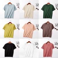 3 Pieces 2019 Summer Women Cotton T Shirt Solid V Neck Short Sleeve Loose Casual Shirts Harajuku Tops Basic Pullover Tee Shirts