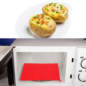 Image 3 - Lavabile Borsa Fornello Forno A Microonde di Cottura di Patate Sacchetto Veloce Veloce Patate Al Forno Tasca Riso Facile da Cucinare Pocket Steam