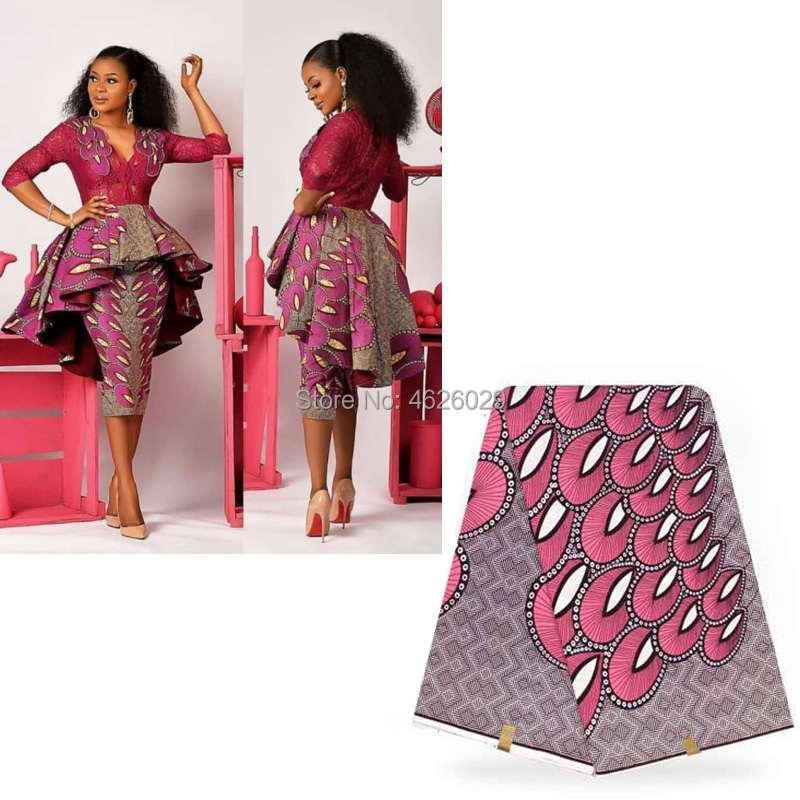 f50caa708c6 Анкара ткань настоящий голландский Африканский вощеная ткань печати для  африканских костюмы конструкции воск мягкий материал платье