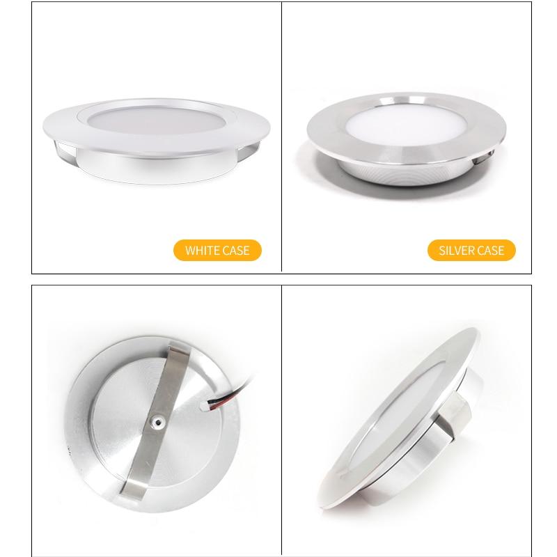 Spot LED Slim Embedded Spotlight Ceiling Downlight 110V 220V Kitchen Cabinet Display Cabinet Bathroom Light Built in in LED Spotlights from Lights Lighting