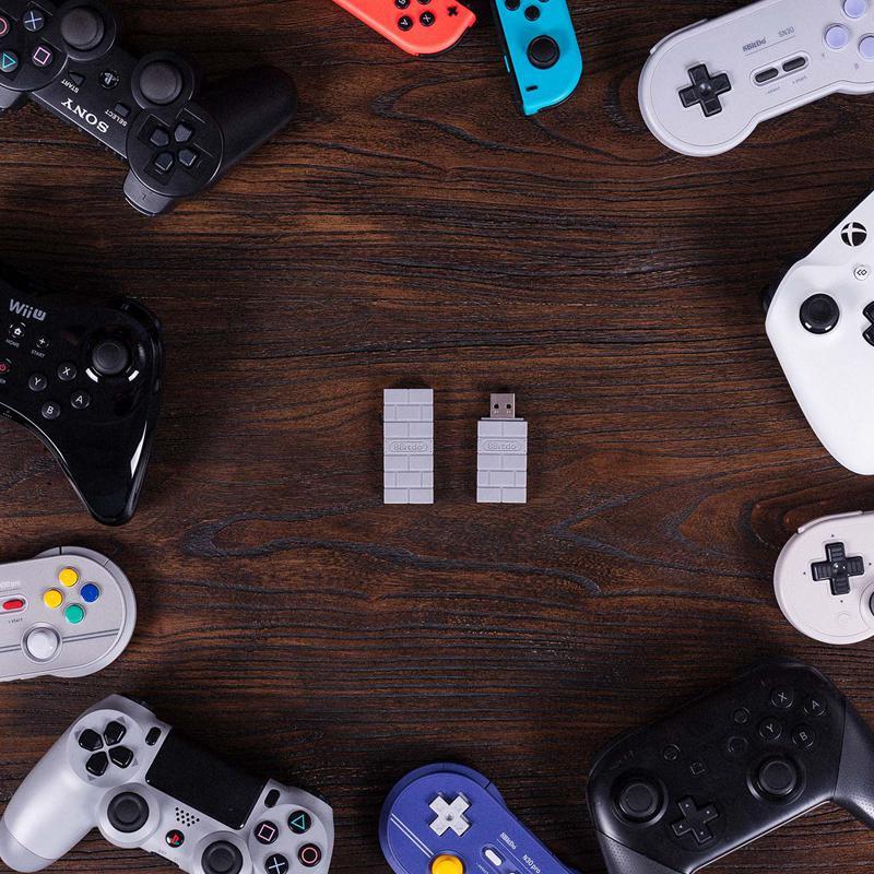 Для Windows, Mac для Nintendo Switch для PS3/Xbox один контроллер 8bitdo USB Беспроводной Bluetooth адаптер приемник R20