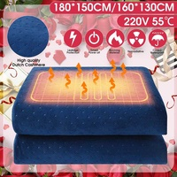 220V Thicker Double Electric Mattress Thermostat Electric Blanket Security Electric Heating Blanket Warm Electric Blanket