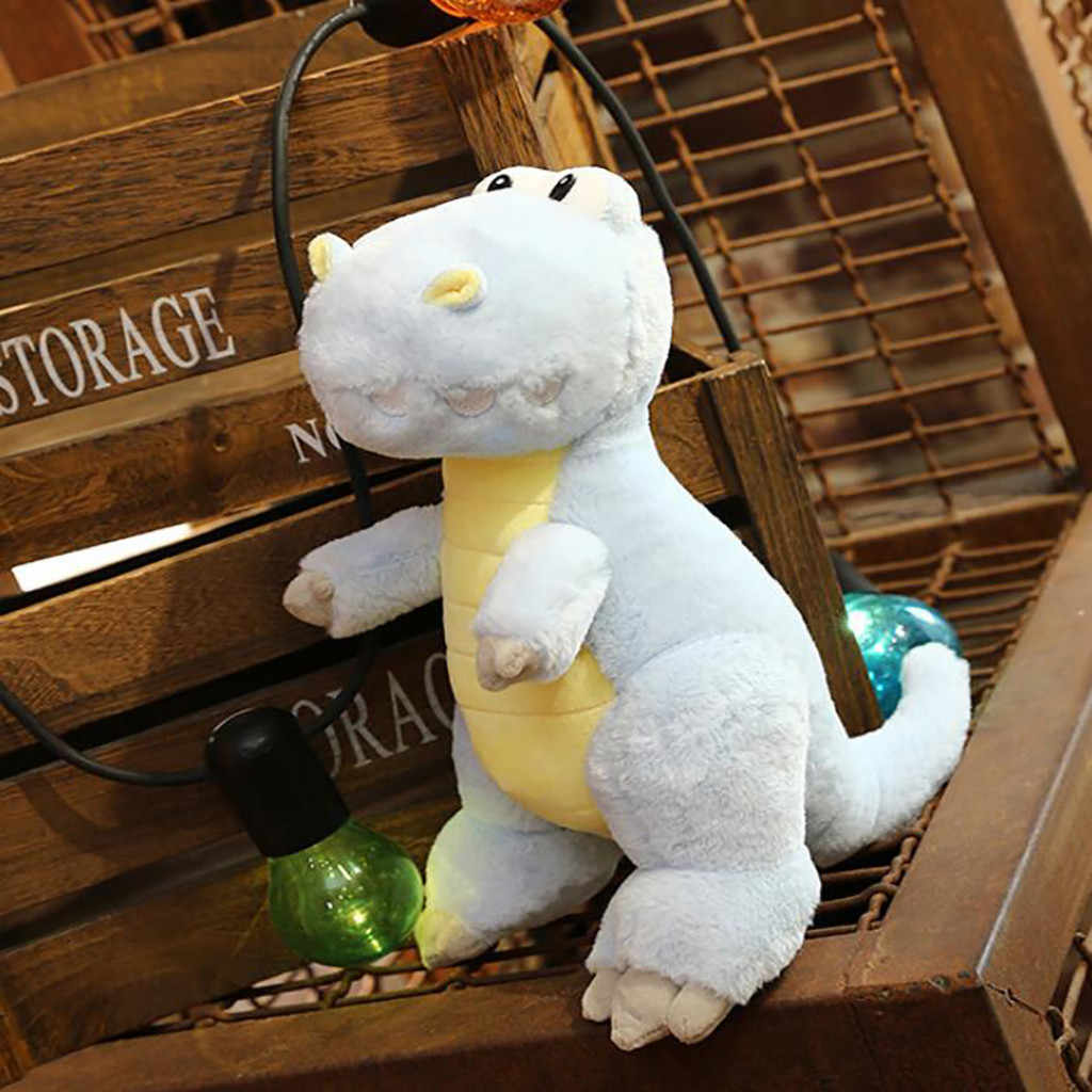 Bonito Brinquedos De Pelúcia Dinossauro Macio Bichos de pelúcia Travesseiro Bonecas Brinquedos Infantis Presente de Aniversário Novo Animal de Pelúcia Brinquedo